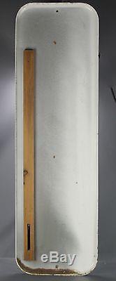 Thermomètre Publicitaire Tole Kleber