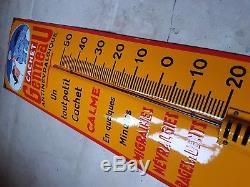 Thermomètre émaillé CACHET GENEAU