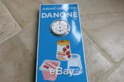 Thermometre émaillé DANONE
