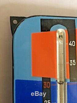 Thermomètre émaillée Bébé Nestlé 1950 émailleries Alsaciennes Strasbourg