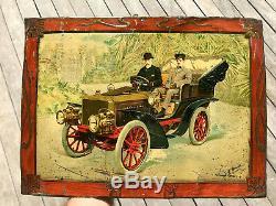 Tôle Litho Automobile 1900