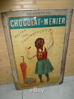 Tole chocolat Menier