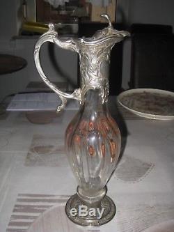 Très Grande Aiguière Émaillée Distillerie Abbaye De Theleme 1905