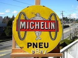 Très Rare Ancienne Plaque Émaillée Michelin qui n'a jamais existé