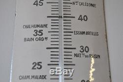 Très beau thermomètre chocolat révillon en très bel état