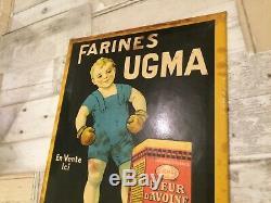 Tres rare glacoide FARINES UGMA signé