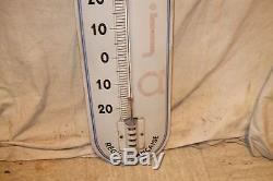 Tres rare thermometre cigarettes naja 1930