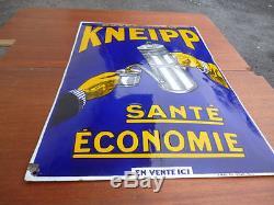 UNIQUE plaque émaillée Malt KNEIPP