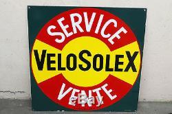 VELOSOLEX authentique plaque emaillee ancienne solex