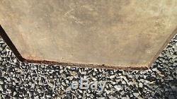 VERITABLE grande Plaque émaillée ancienne COCA COLA GROOM 1957 tole deco loft