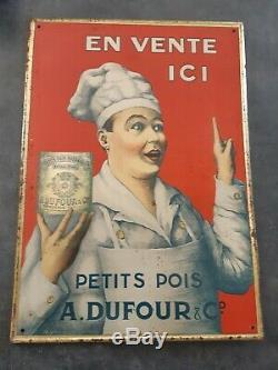 Vends Ancienne Tole Litho A. Dufour