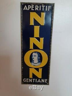 Vends Ancienne Tole Litho Ninon